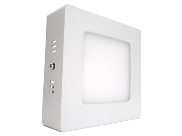 Plafoniera Quadrata Led Soffitto : Plafoniera faretto led da soffitto muro parete quadrata w bianco