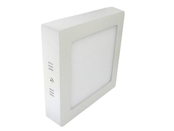 Plafoniera Led Da Soffitto : Plafoniera faretto led da soffitto muro parete quadrata 12w bianco