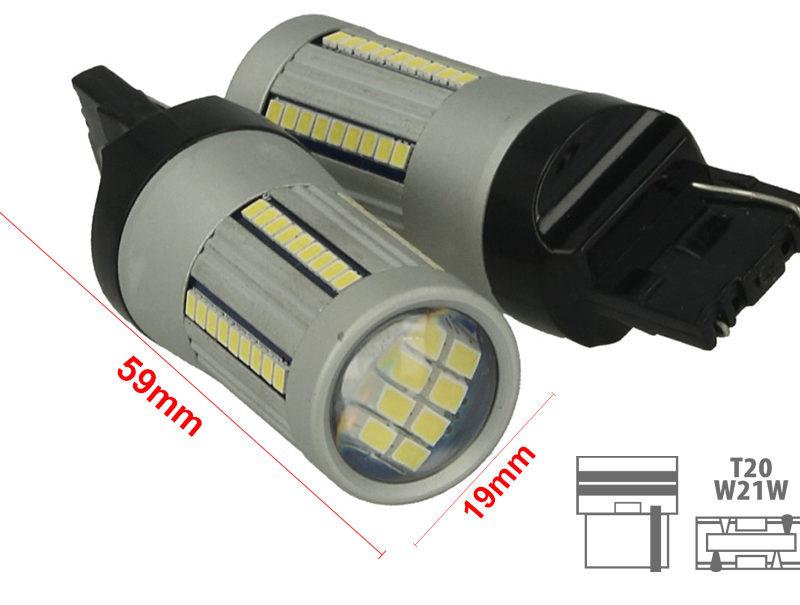 Lampadina Luci Diurne Fiat 500 : Lampada led t canbus v w reale per luci diurne vw touran